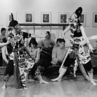UC Santa Cruz Gamelan: concert at Monterey Peninsula Museum of Art. 1985.