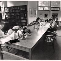 Stevenson College Library. Circa 1986