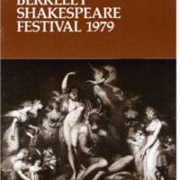 Berkeley Shakespeare Festival 1979 Brochure