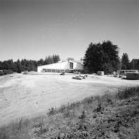 College Five (Porter College): construction view. 1969.