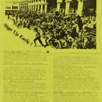 Community Studies Program Courses. Spring 1983. Poster.
