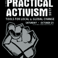 Cover of program for Practical Activism Conference, 2017