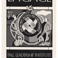 """College Ten """"Engage"""" Leadership Institute Brochure. 2002."""