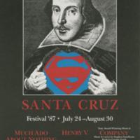 Summer 1987 season poster