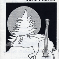 Third Annual Women's Music Festival Program cover