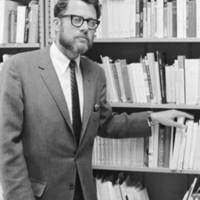 Neal Oxenhandler, professor of French literature. 1966.