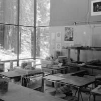 Merrill College: pottery studio. 1981.