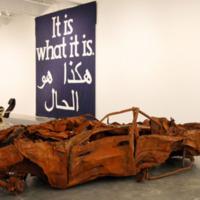 Al-Mutanabbi Car bomb display