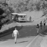 UCSC campus shuttle bus