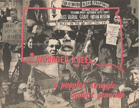 Wounded Knee Genocide Flier