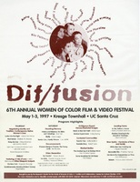 1997 Women of Color Film and Video Festival Poster