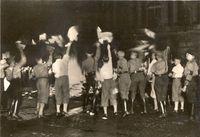 Hitler Youth Burning Books